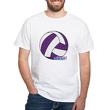 Purple Volleyball Shirt