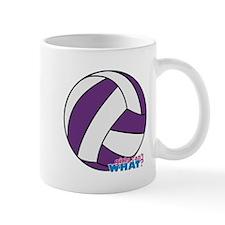 Purple Volleyball Mug