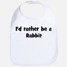 Rather be a Rabbit Bib