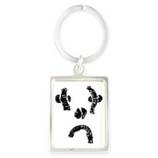 Exproodles - Sniffy the Pathetic Portrait Keychain