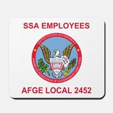 AFGE Local 2452<BR>Mousepad