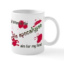 Bitten in the Zombie Apocalypse Mug