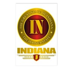 Indiana Gold Label Postcards (Package of 8)