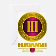 Hawaii Gold Label Greeting Card