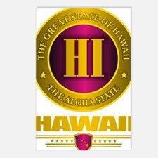 Hawaii Gold Label Postcards (Package of 8)