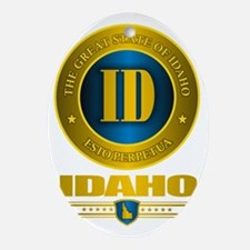 Idaho Gold Label Oval Ornament