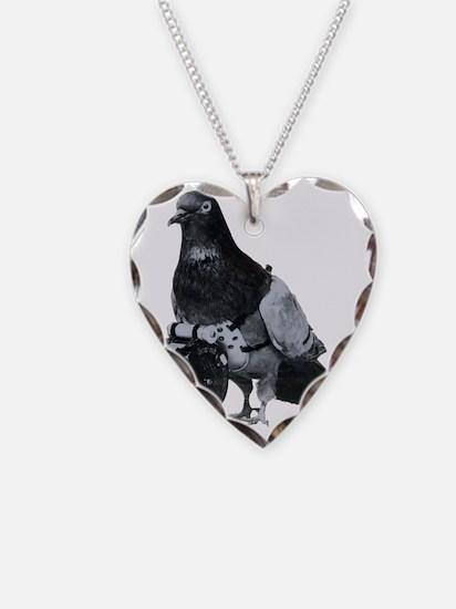 Spy Pigeon Necklace