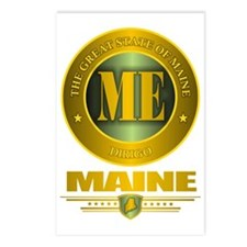 Maine Gold Label Postcards (Package of 8)