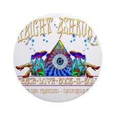 Haight Ashbury Round Ornament