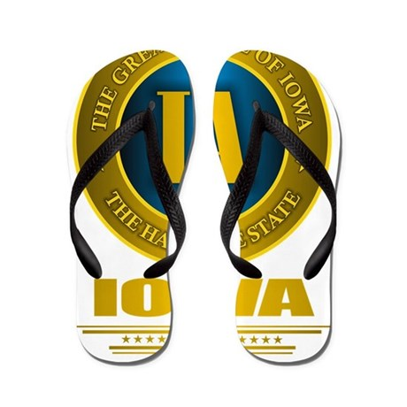 Iowa Gold Label Flip Flops