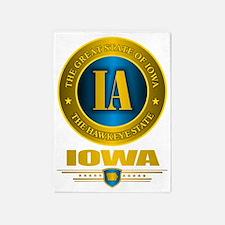 Iowa Gold Label 5'x7'Area Rug