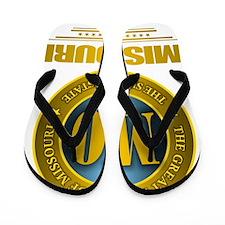 Missouri Gold Flip Flops