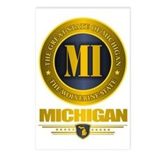 Michigan Gold Postcards (Package of 8)