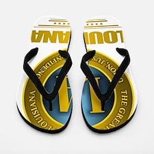 Louisiana Gold Label Flip Flops