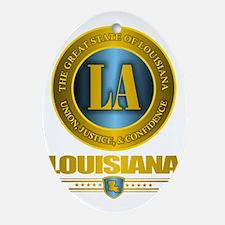 Louisiana Gold Label Oval Ornament