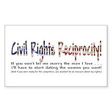 Civil Rights Reciprocity Decal
