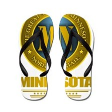 Minnesota Gold Label Flip Flops
