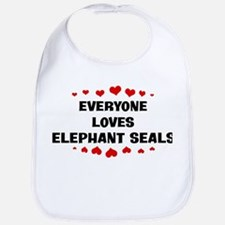 Loves: Elephant Seals Bib