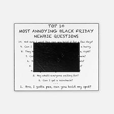 Black Friday Top 10 List (Black) Picture Frame
