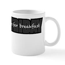 Black Friday Breakfast Mug