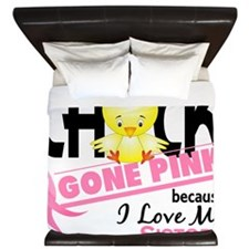 - Chick Gone Pink Sister King Duvet