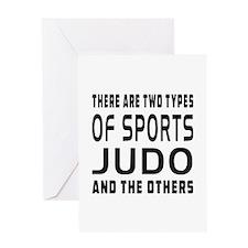 Judo Designs Greeting Card