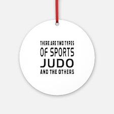 Judo Designs Ornament (Round)