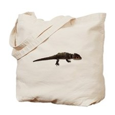 Red Eye Crocodile Skink Tote Bag