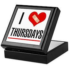 I Love Thursdays Keepsake Box