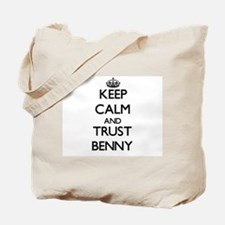 Keep Calm and TRUST Benny Tote Bag