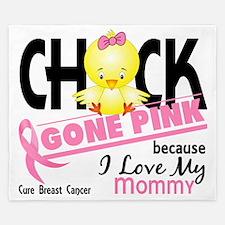 - Chick Gone Pink Mommy King Duvet