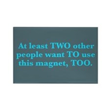 Two To Too - Rectangle Magnet