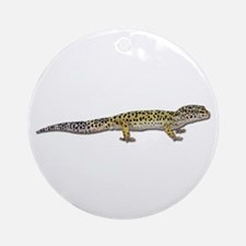 Leopard Gecko Ornament (Round)