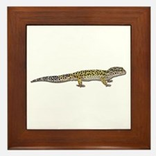 Leopard Gecko Framed Tile