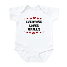 Loves: Krills Infant Bodysuit