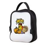 thanksgiving centra... Neoprene Lunch Bag