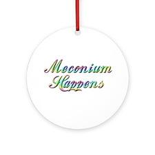 The Meconium Ornament (Round)