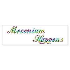 The Meconium Bumper Bumper Sticker