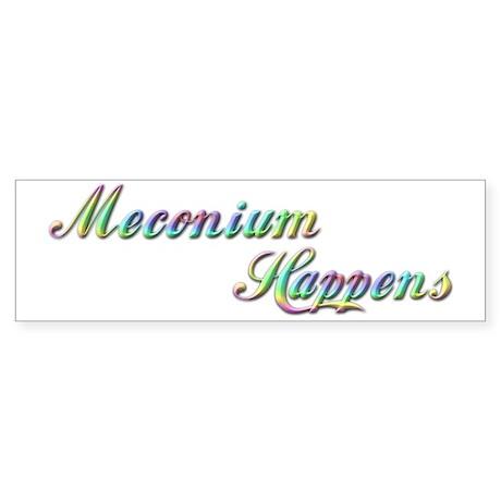 The Meconium Bumper Sticker