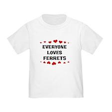 Loves: Ferrets T