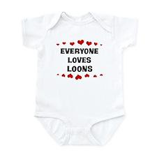Loves: Loons Infant Bodysuit