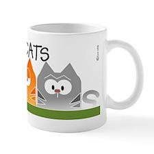 3 cats large  Mug