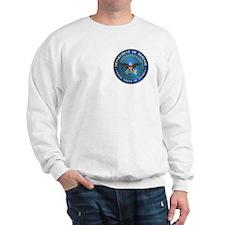 D.O.D Sweatshirt: Government Emblem