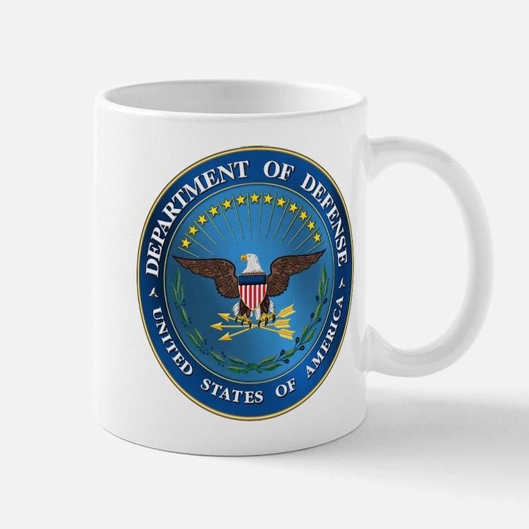 D.O.D Mug Government Emblem