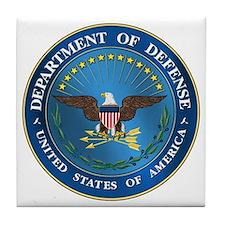 D.O.D Tile Coaster: Government Emblem