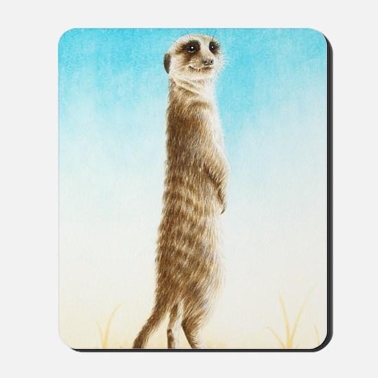 Meerkat Slider Case Mousepad
