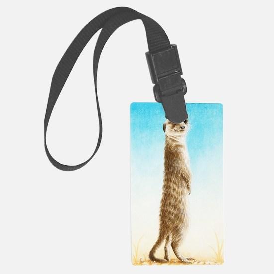 Meerkat Slider Case Luggage Tag