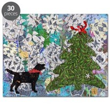 Emmetts Crabby Xmas note card Puzzle