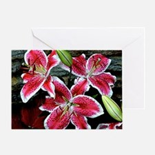 Lilly Explosion Greeting Card