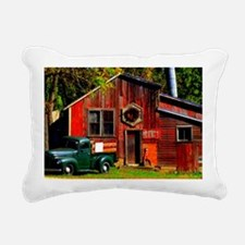 Ye Olde Mill Rectangular Canvas Pillow
